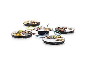 Princess 104000 Dinner4All Table Grill – Parrilla Adecuada para 4 Personas