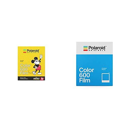 Polaroid Originals Limited Edition Color Film for 600 - Mickey's 90th Anniversary Edition (4860) &  Originals Color Film for 600 (4670)