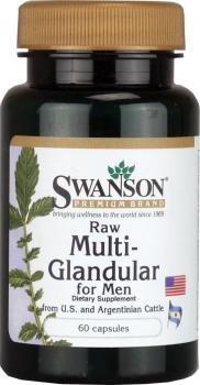 Swanson Raw Multi Glandular Men Caps
