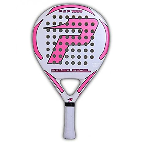 POWER PADEL Fiber Glass Woman - Palas de pádel: Amazon.es ...