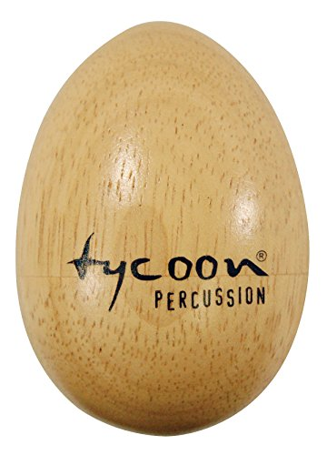 Tycoon Percussion TE-WL Wooden Egg Shaker, Large Pair