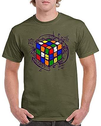 Zooge Rubik Cube Men's ComfortSoft Short Funny T-Shirt