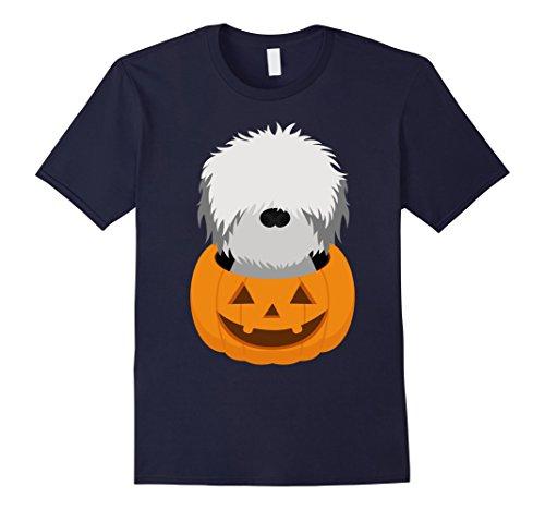 [Mens Halloween costume gifts Bearded Collie dog lover t shirt Medium Navy] (Bearded Halloween Costumes Men)