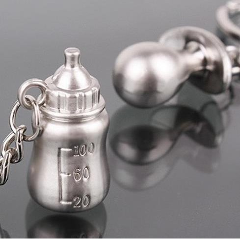Baby Bottle Keychain Favors - 3