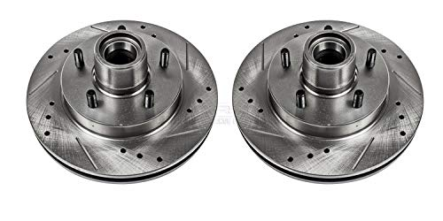 Power Stop AR8213XPR Front Evolution Drilled & Slotted Rotor Pair 1992 Chevrolet Camaro Z28