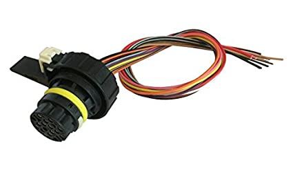 Enjoyable Amazon Com 6L80E 6L90E T43 Tcm Transmission Connector Pigtail Wiring Cloud Staixuggs Outletorg