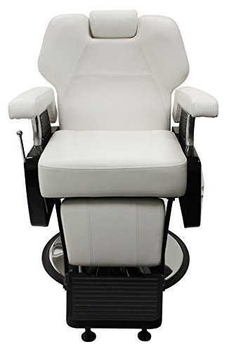 All Purpose Hydraulic Reclining ''Vanderbilt'' Barber Chair by CCI Beauty Salon Spa Shampoo Equipment Furniture by CCI Beauty