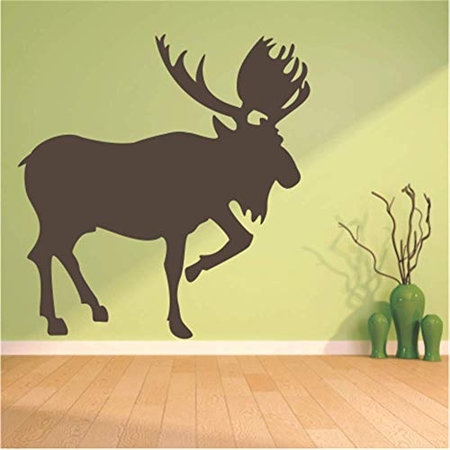 Iupoax Motivational Wall Sticker Quotes Moose Graphic for Living Room Bedroom Nursery Kids Room