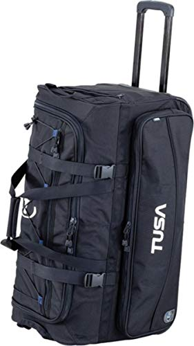 - TUSA - Dive Gear Roller Duffle Bag in Black