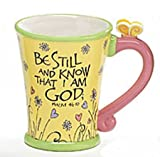 Be Still and Know That I Am God Inspirational Coffee Mug