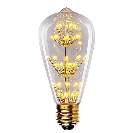 buy starry night 3w edison style vintage led decorative light bulb