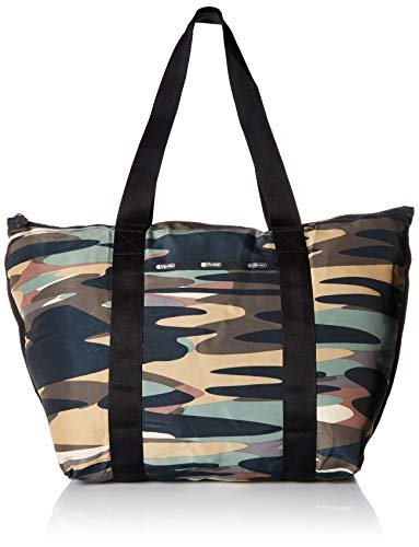 LeSportsac Travel Packable Large Tote, Passport camo t