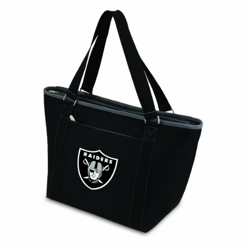 Oakland Raiders Jewelry - NFL Oakland Raiders Topanga Insulated Cooler Tote, Black