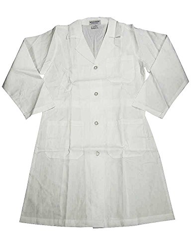 Natural Uniforms - Unisex 41 Inch Lab Coat, White 37152-Large-FBA
