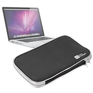 Funda Negra Resistente Para Apple Macbook Pro De 15 Pulgadas