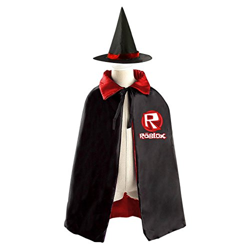 Roblox Lego Parts Xbox Witch Cloak Reversible Cosplay Costume Satin Cape Boys Girls