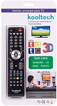 MANDO UNIVERSAL PARA TV - APTO PARA SAMSUNG LG SONY PHILIPS KOOLTECH CPM2322: Amazon.es: Electrónica