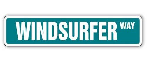 WINDSURFER Street Sign windsurfing wind surfing gift