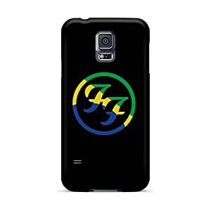 Durable Cell-phone Hard Covers For Samsung Galaxy S5 (DFz9171FHoY) Unique Design High Resolution Foo Fighters Series