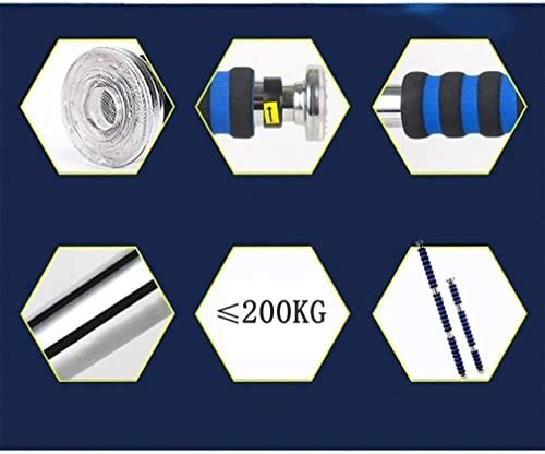 ドアジム エクササイズバー ハンギング、スポーツおよびフィットネスエクササイズ62〜100センチメートル(青)のための専門エクストラワイド耐え、パッド入りのハンドルではありませんネジチンアップバー - アップバーを引いて 室内トレーニング器具 (Size : 82-130cm)
