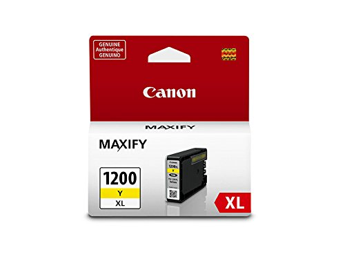 Canon PGI-1200XL Yellow Ink Tank Compatible to MB2120, MB2720, B2020, MB2320 ()