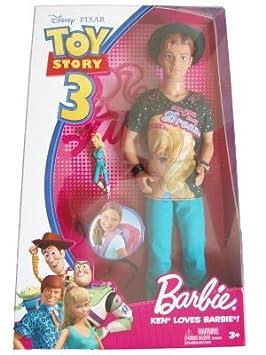 Amazon.es  Disney   Pixar Toy Story 3 Barbie Doll Ken Loves Barbie   Juguetes y juegos 79efd3ee291