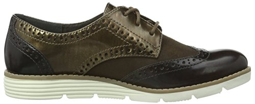 Oliver 23623 Brown s Brogue Comb Dk 303 Marrone Donna FACwPq