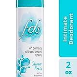 FDS Intimate Deodorant Spray All Day Freshness, Shower Fresh - 2 oz Bottle