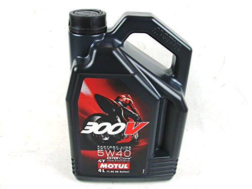 MOTUL 300V Synthetic 5W40 Motor Oil 4L 104115 -