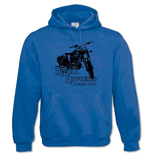 Men's Picture of Royal Enfield Classic 500 Hoodie