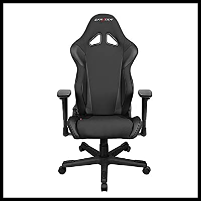 DXRacer OH/RW106/N Ergonomic, High Quality Computer Chair for Gaming, Executive or Home Office Racing Series Black by DXRacer