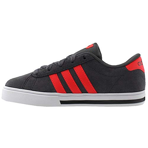 Pictures of adidas Kids' Daily Team Sneaker BC0155 Grey/Red 5