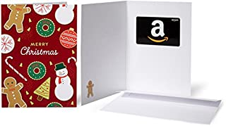Amazon.com Gift Card in a Greeting Card (Christmas Cookies Design) (B0763L5G17) | Amazon price tracker / tracking, Amazon price history charts, Amazon price watches, Amazon price drop alerts