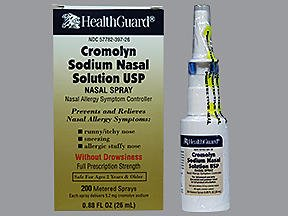 Healthguard Cromolyn Sodium Nasal Solution - .88 oz, Pack of 6