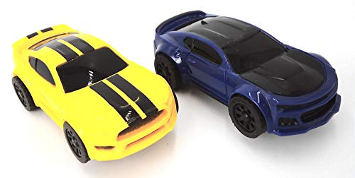 JJ_TOYS Mustang Style Ho Scale Extra Replacement Slot Car 2 Pack from JJ_TOYS