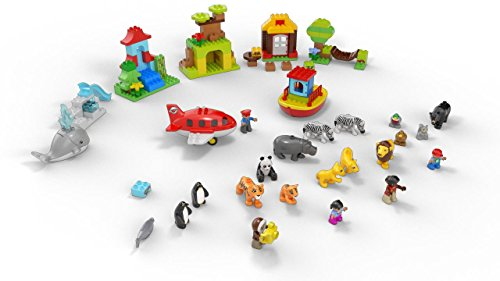 Lego Duplo Around The World 10805 Amazon Exclusive Import It All