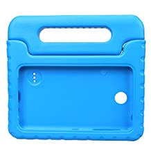 NEWSTYLE Samsung Galaxy Tab 4 7.0 Shockproof Case Light Weight Kids Case Super Protection Cover Handle Stand Case for Kids Children For Samsung Galaxy Tab 4 7-inch SM-T230 SM-T231 SM-T235 - Blue Color