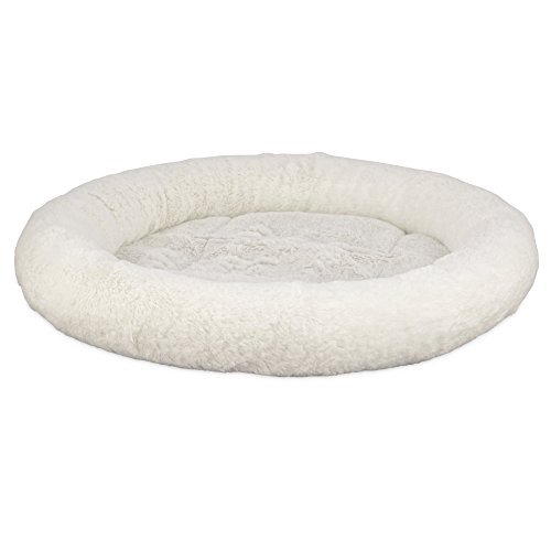 Harmony Oval Cat Bed in Cream, 17