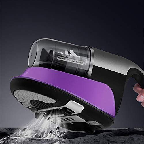 GOOCO pour Literie Et Coussins, Anti-acarien, Aspirateur Mini-nettoyants, Éliminer Acariens Domestiques avec Lumière Ultraviolette UV, Aspirateur Anti Acariens