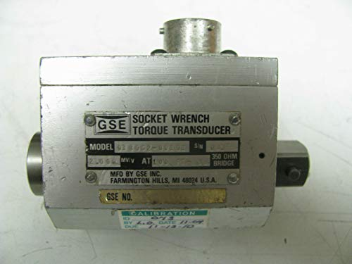Torque Socket Transducer - GSE Socket Wrench Torque Transducer 100 ft lbs - GSE16