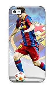 Premium Protection Lionel Messi In Fifa 2014 Facts Case Cover For Iphone 6 (4.5)- Retail Packaging