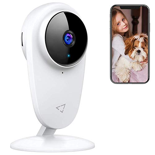 Victure Baby Monitor 2.4G Wireless Indoor Home Security Camera with Two-Way Audio Motion Detection Night Vision for Baby/Pet/Nanny/Elderly Compatible with iOS & Android System
