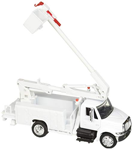 (NewRay 15913E 1: 43 Utility - International Maintenance Truck, White )