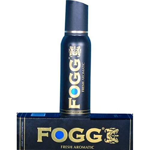 41fbQ6H1ouL - Fogg Fresh Aromatic Body Spray Deodorant For Men, Black, 120ml for Rs 166 at Amazon