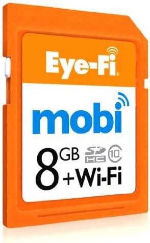 Amazon.com: Eyefi Mobi 8 GB Class 10 WiFi Tarjeta SDHC con ...
