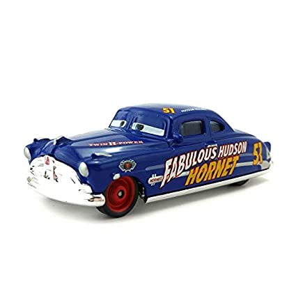 Amazon.com  Disney Pixar Cars 3 27Styles Lightning McQueen Mater Jackson  Storm Ramirez 1 55 Diecast Metal Alloy Model Toy Car Gift for Kids Fabulous  Hudson ... 60d3fc464c09