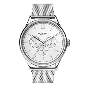 Accurist Men's Analogue Japanese Quartz Watch with Stainless Steel Strap 7284