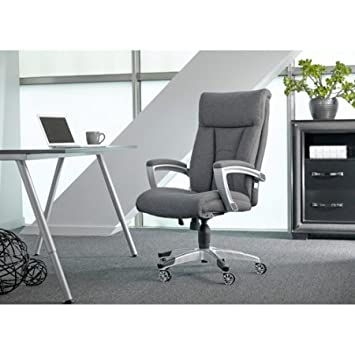 Office Chair With Fabric Cool Foam, Sturdy, Comfortable, Sealy Posturepedic,  Healthy,