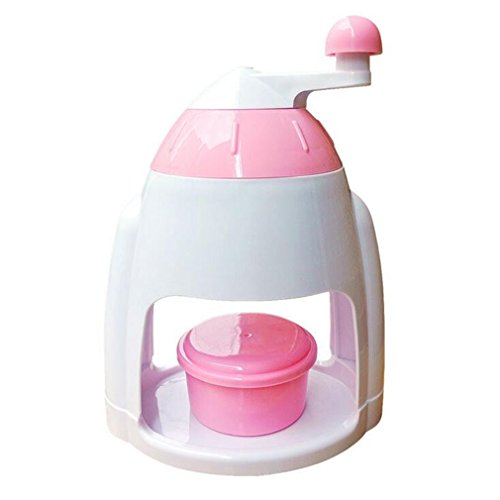 NUO-Z Chrome Plated Ice Crusher By Cocktail,Pink