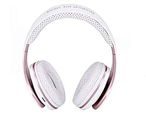 JKR-211B Active Noise Cancelling Wireless Headphone- WHITE